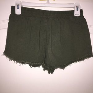 Forever 21 Army Green Shorts